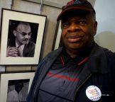 Gegory Burrus w pic of Bass Playet Earl May WBGO Jazz Radio DJ Newark NJ