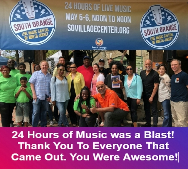 Thank You KickOff 24 Hours of Music South Orange NJ