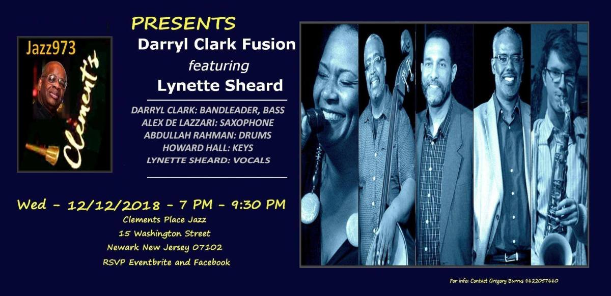 Jazz973 Presents Darryl Clark Fusion featuring Lynette Sheard