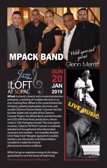 Jazz in the Loft: MPack – SOPAC