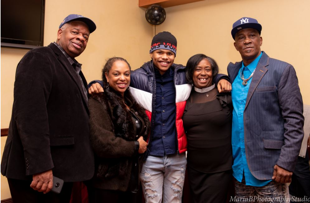 Gregory Burrus Hosting Intimate Ringside with Shakur Stevenson CC Minton Wali and Robyn Moses at Primavera Ristorante at the Wilshire Grand Hotel.-032