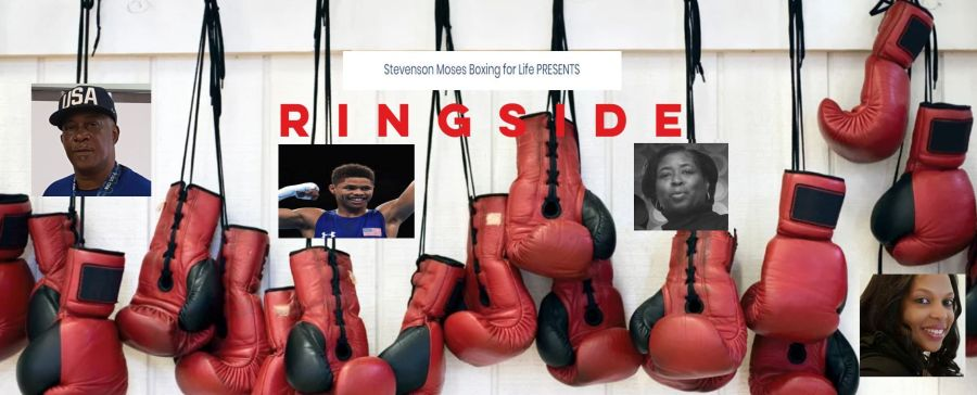 Ringside for a cause olympic front w Shakur