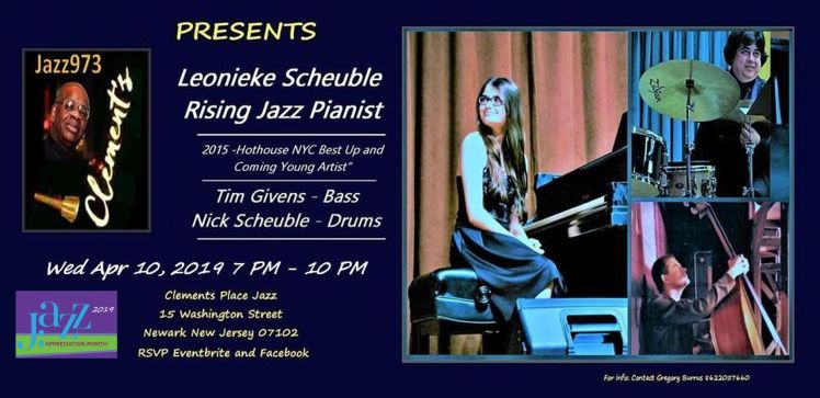 8 Jazz973 Presents Leonike Scheuble at Clements Place by Gregory Burrus Apr 10