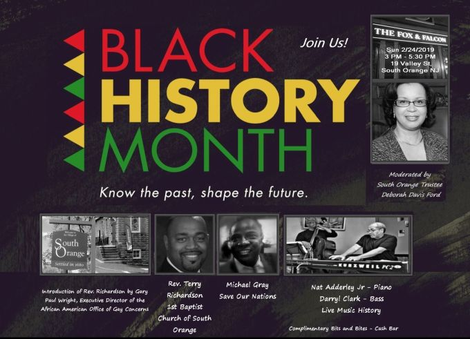 South Orange Black History Month