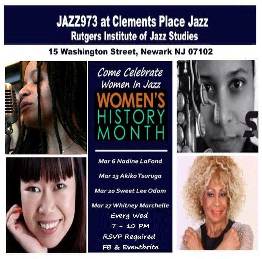0 NO jazz973 Womens History Month produced by Gregory Burrus