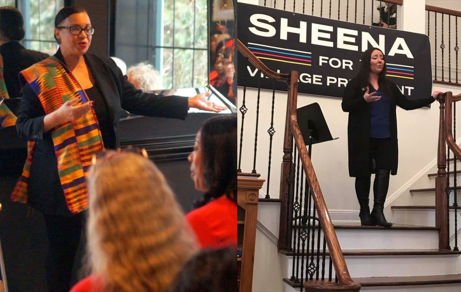 Deborah Davis Ford and Sheena Collum for South Orange Mayor