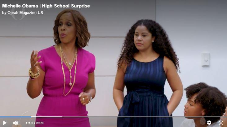 Michelle Obama Oprah Winfrey 30 High School Girls 2019