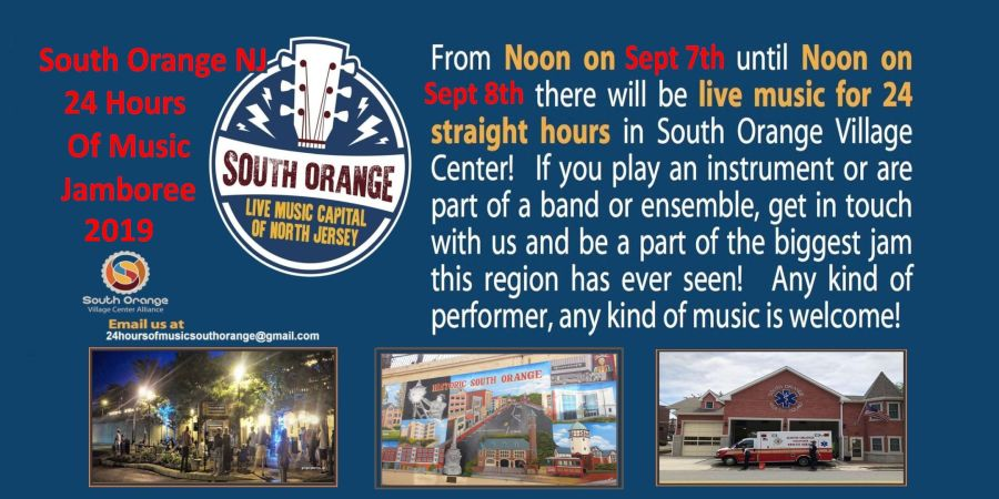 A 24 Hours of Music South Orange SOVillage Gregory Burrus