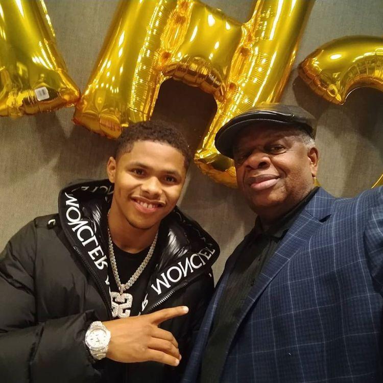 Gregory Burrus Live Music Ambassador with Olypian Pro Boxer Newark Shakur Sevenson