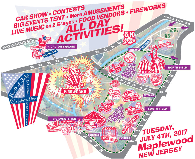 july 4th Maplewood Activities