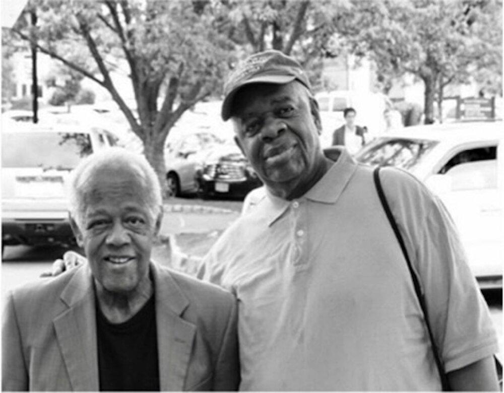 Gregory Burrus with legendary Trombonist Slide Hampton.jpg