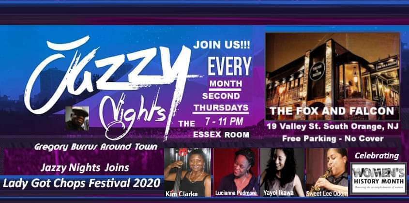 jazzy Nights Womens History Month Celebration 202 by Gregory burrus wo banner