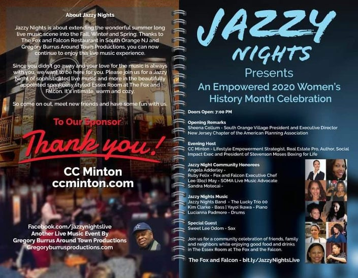 jazzy Nights Womens History Month Celebration 202 by Gregory burrus