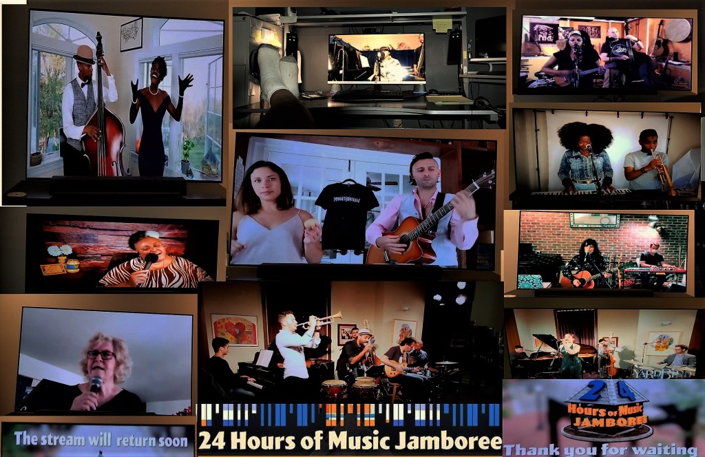 24-hours-of-music online-on-the-big-screen-at-home-during-covid-19